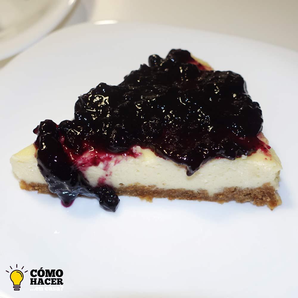 Porción de Tarta de queso New York Cheesecake