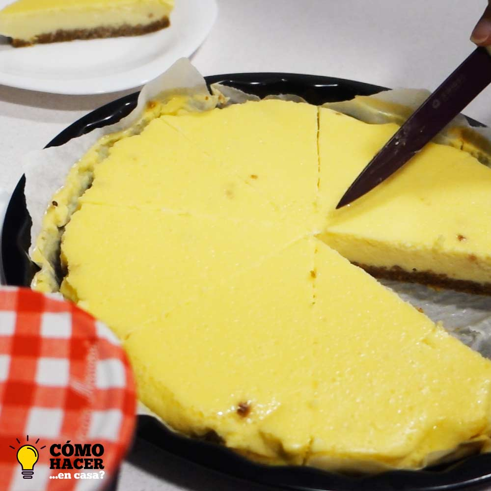 Tarta de queso New York Cheesecake