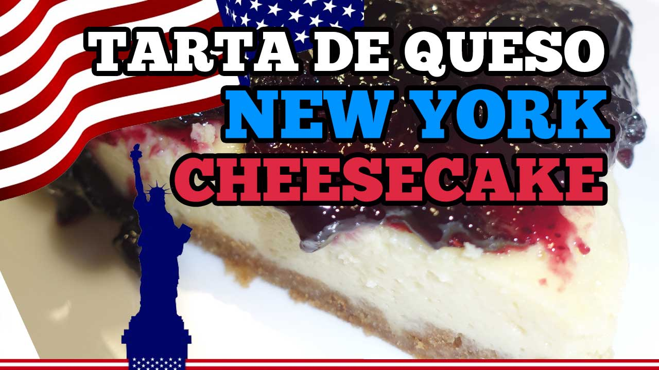 Cómo hacer tarta de queso New York Cheesecake